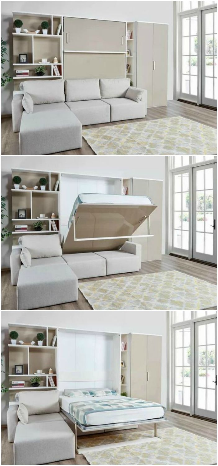 18 Murphy beds that convert any room to a bedroom in seconds