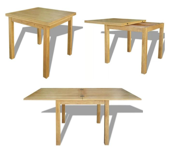 expandable dining table 2 - These 12 dining tables are excellent solutions for small spaces