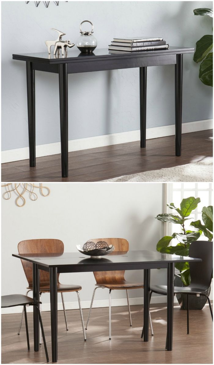konsol dining table  - These 12 dining tables are excellent solutions for small spaces
