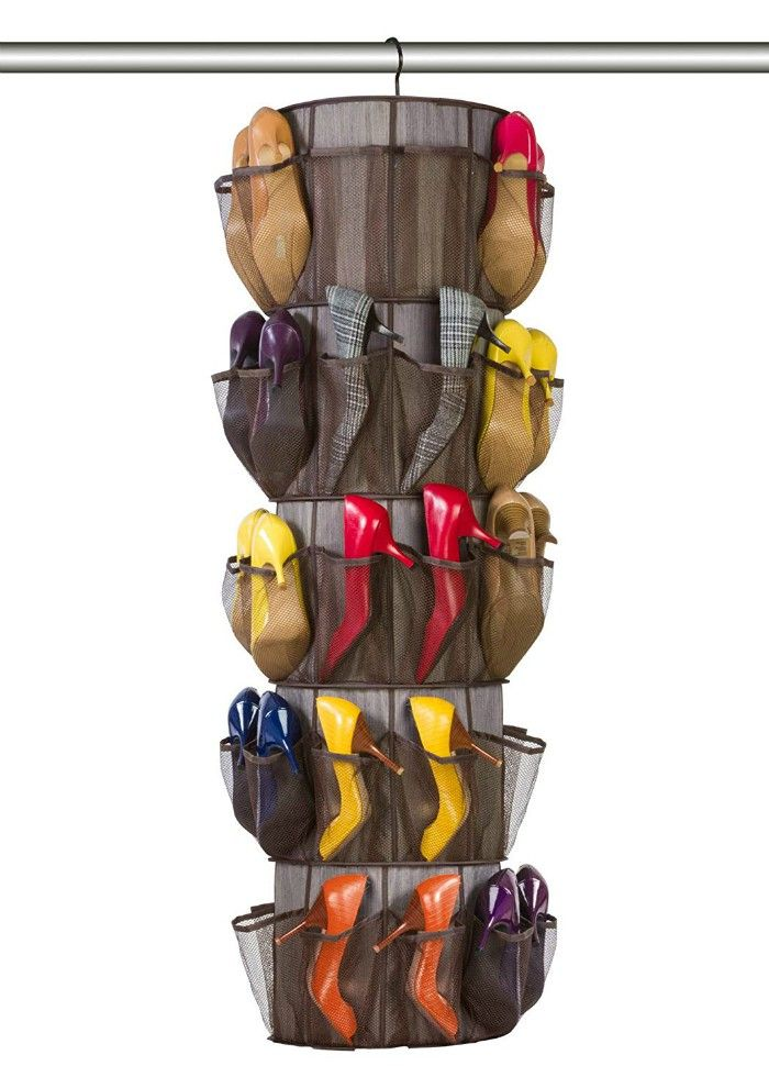 carousel shoe storage - 20 brilliant ideas for organizing your closet