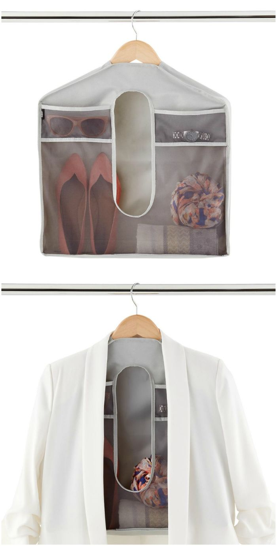 stash hanging storage - 20 brilliant ideas for organizing your closet