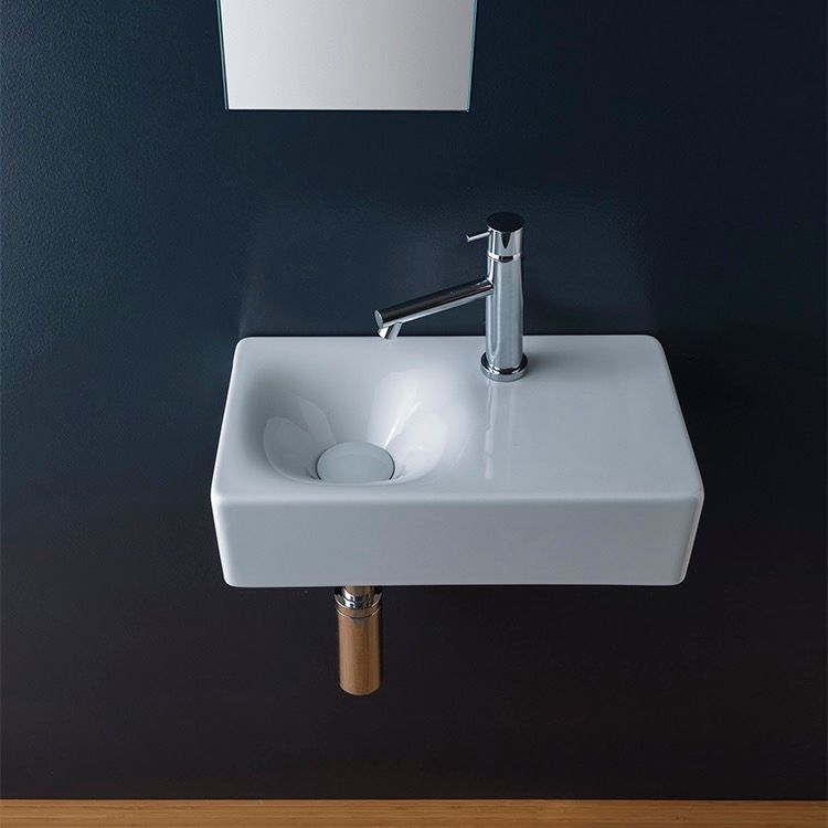 Scarabeo - Ten stylish and compact sink solutions for small bathrooms