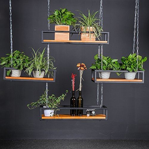 WGX-Growers-Hanging-Basket-Planter-with-Chain-Indoor-Outdoor-Flower-Plant-Pot-Home-Garden-Balcony-Bar-Cafe-Decoration