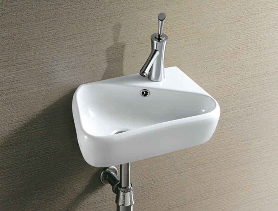 small sink 1 - Ten stylish and compact sink solutions for small bathrooms