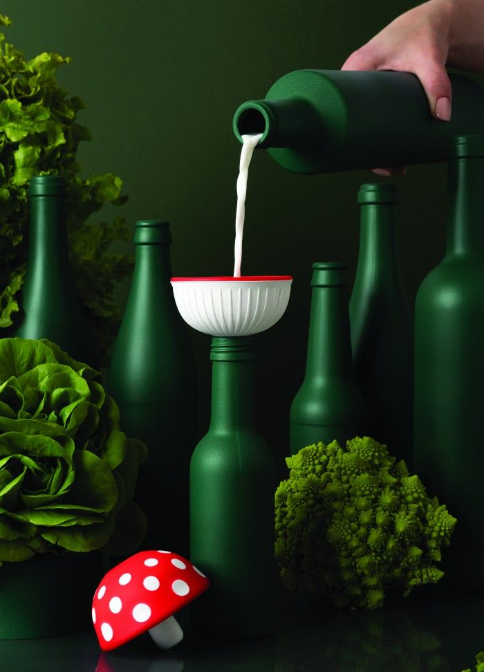 magic mushroom funnel - Ototo Design puts the fun in functional with their new products