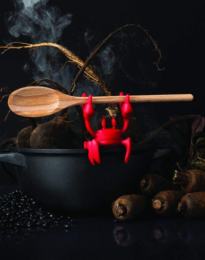 red spoon holder - Ototo Design puts the fun in functional with their new products