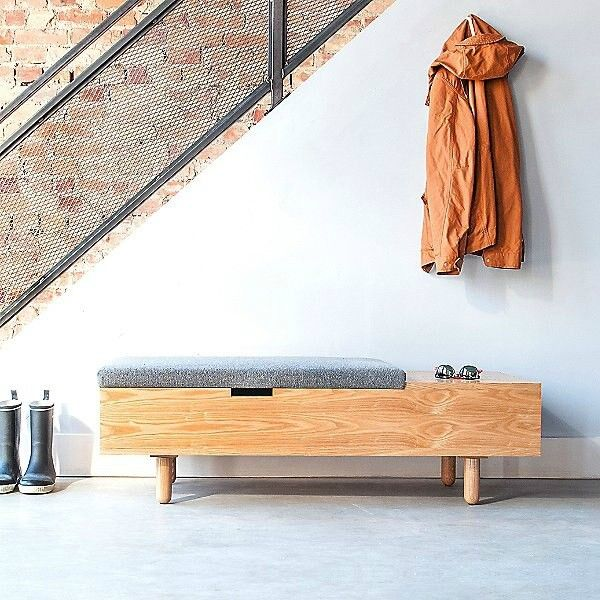 20 Chic And Practical Entryway Benches Living In A Shoebox,Wall Paint Design Ideas With Tape