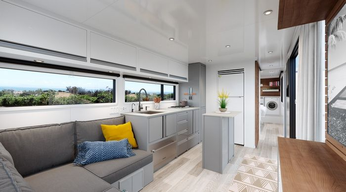 living vehicle trailer 11 - The Living Vehicle 2020 promotes luxurious off-the-grid camping
