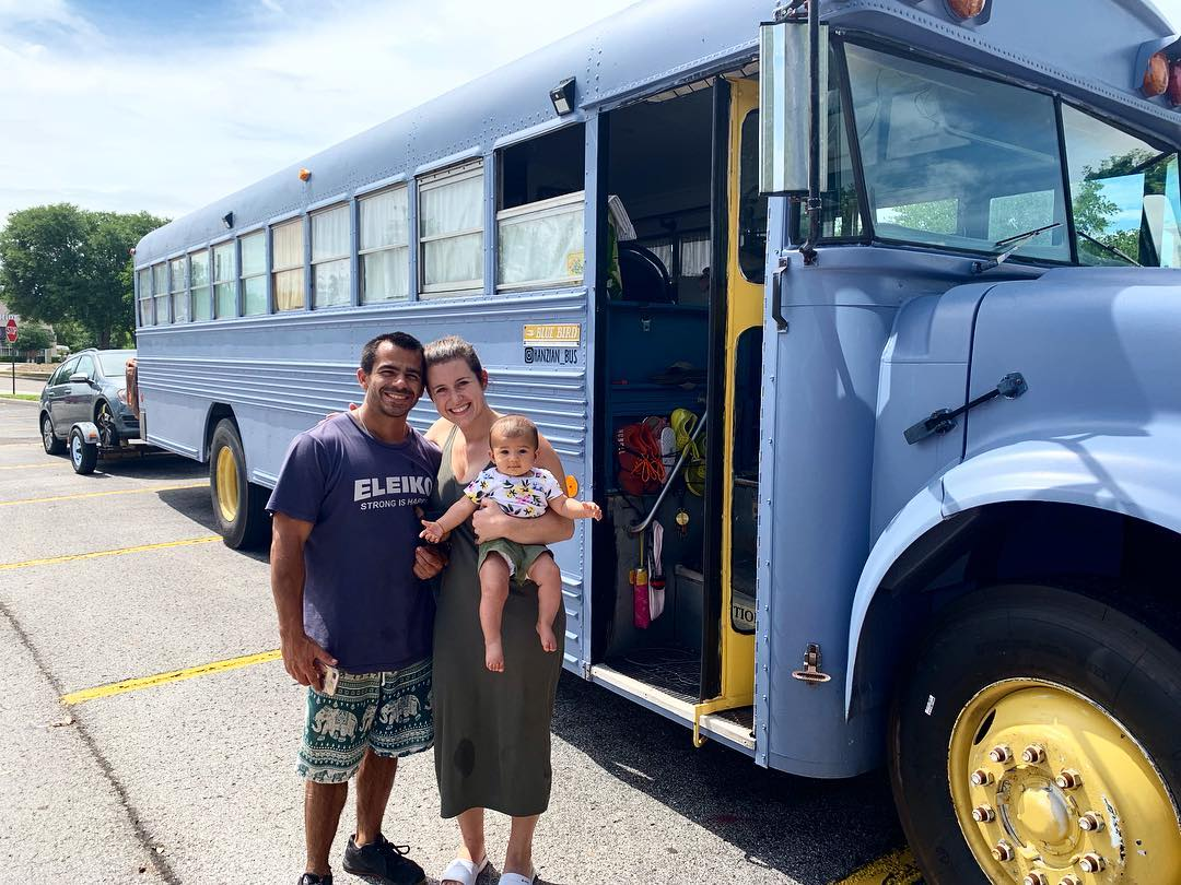 school bus conversion 7 - Couple purchased $2,000 bus and turned it into their dream home