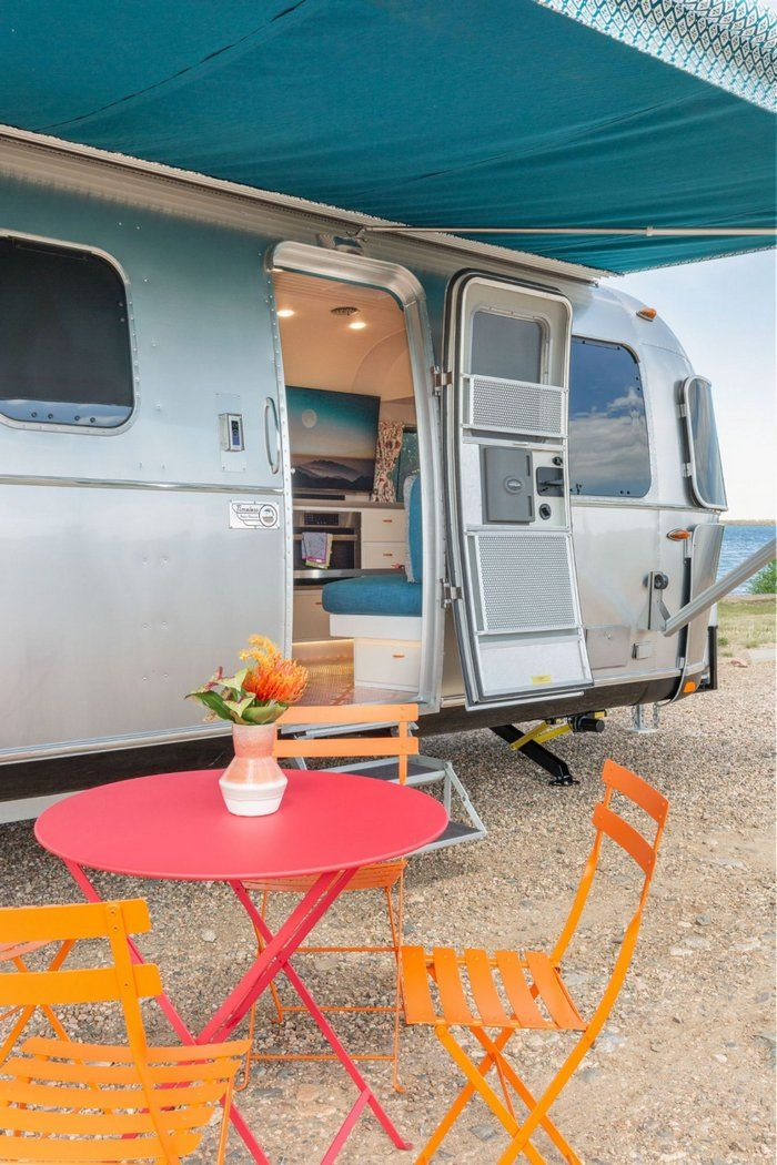 Taking The Airstream Camper To The Next Level Living In A Shoebox