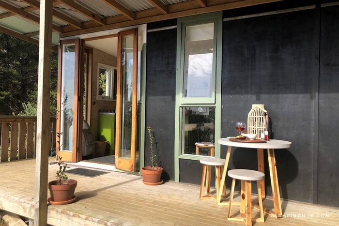Chic Tiny House Ideal for a Romantic Getaway in Raglan North Island 3 - Try out tiny house living in these 18 beautiful holiday homes
