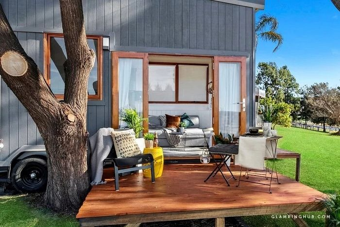 Fantastic Tiny House Rental for a Glamping Getaway near Sydney - Try out tiny house living in these 18 beautiful holiday homes