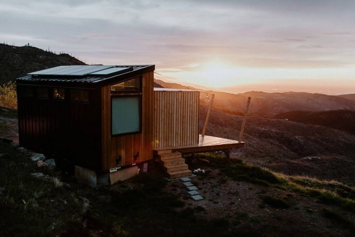 Off Grid Designer Tiny House on a Mountain Top 3 - Try out tiny house living in these 18 beautiful holiday homes