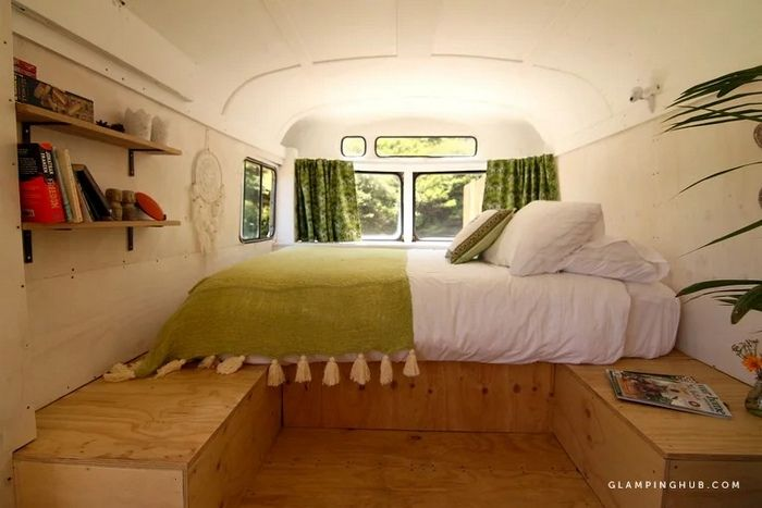 Romantic Glamping Getaway with Ocean Views and an Outdoor Bath in Raglan North Island 2 - Try out tiny house living in these 18 beautiful holiday homes