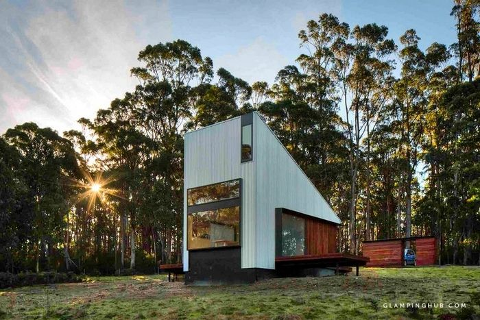 Stunning Bruny Island Tiny House Perfect for a Romantic Getaway Tasmania 2 - Try out tiny house living in these 18 beautiful holiday homes