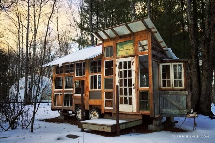 Tiny House in the Catskill Mountains - Try out tiny house living in these 18 beautiful holiday homes