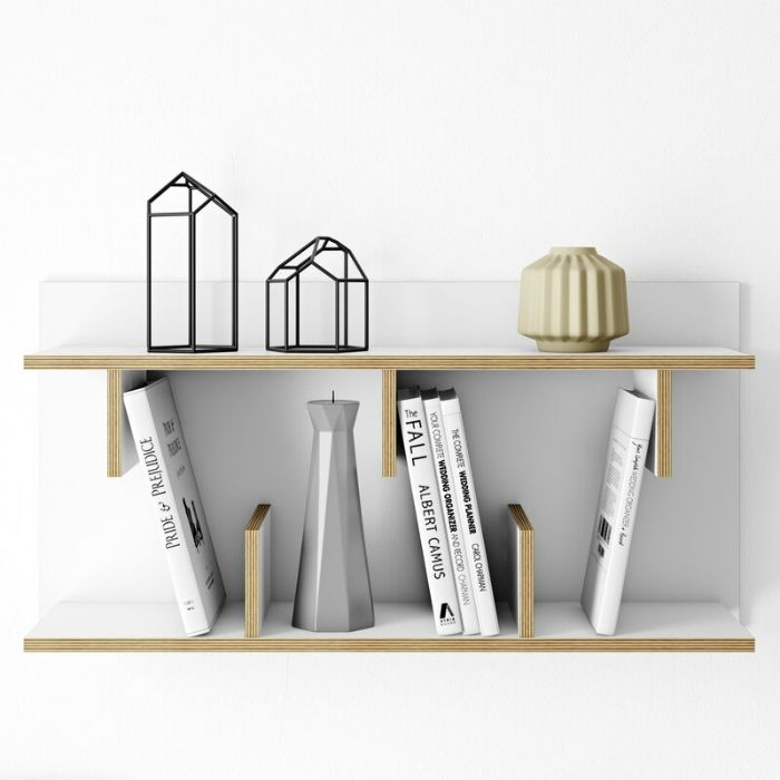 Bern Wall Shelf - 20 floating shelves ideas that are sure to freshen up your walls
