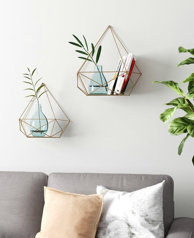 Elisa floating shelves - 20 floating shelves ideas that are sure to freshen up your walls