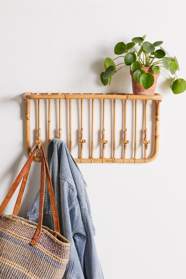 Kamal Entryway Multi Hook Wall Shelf.jfif  - 20 floating shelves ideas that are sure to freshen up your walls