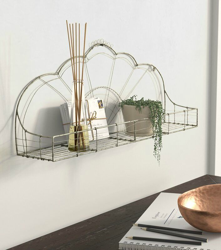 Zia Accent Shelf - 20 floating shelves ideas that are sure to freshen up your walls