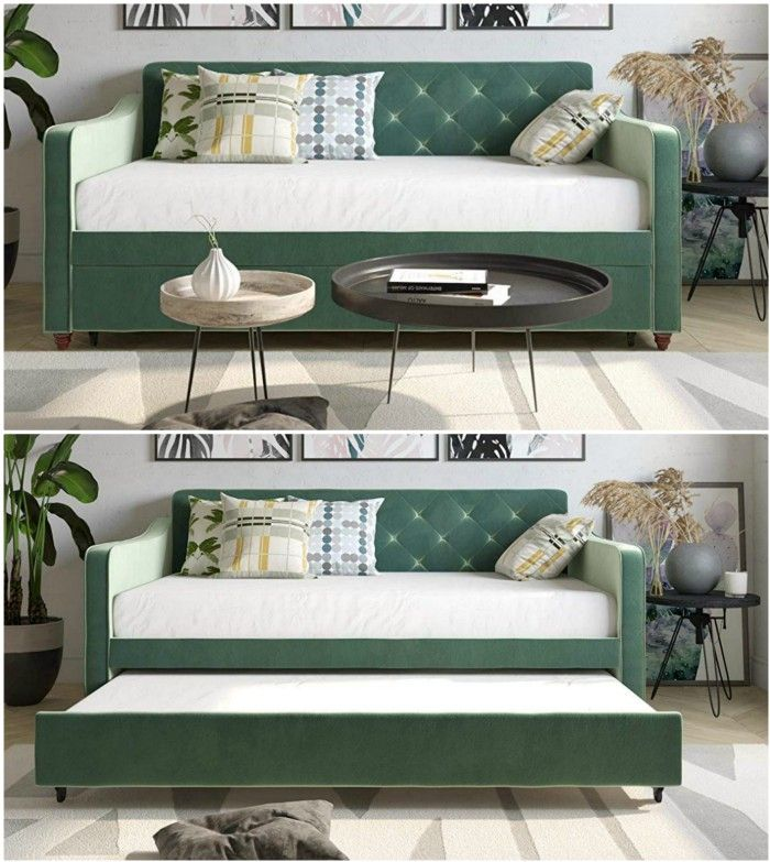 light green daybed - Nine daybeds that are brilliant solutions for small spaces