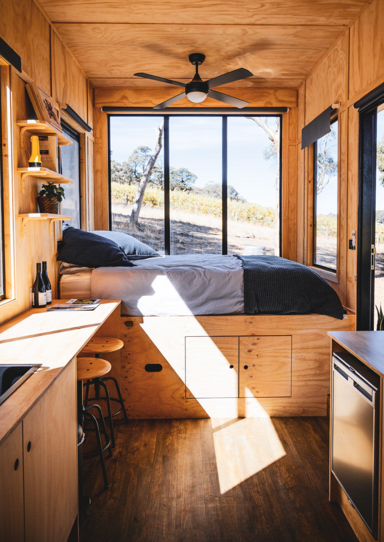 matilda cabin 2 - These tiny Aussie cabins offer a simpler way of life
