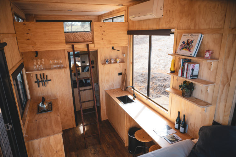 matilda cabin 3 - These tiny Aussie cabins offer a simpler way of life