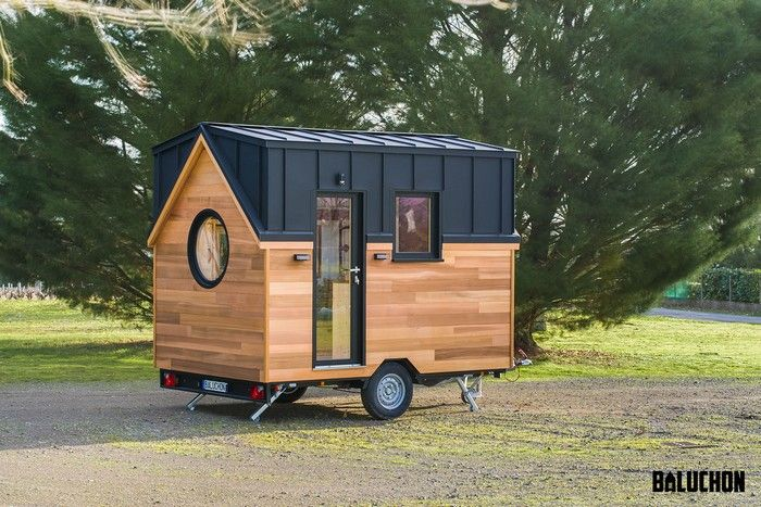 nano tiny house 2 - This 82-square-foot tiny house functions as a comfortable holiday home for a family of three
