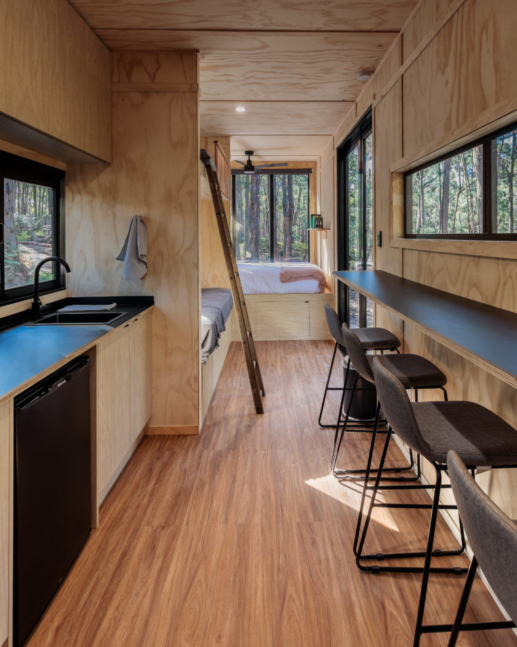 sadie cabin 1 - These tiny Aussie cabins offer a simpler way of life