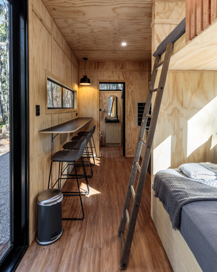 sadie cabin 4 - These tiny Aussie cabins offer a simpler way of life