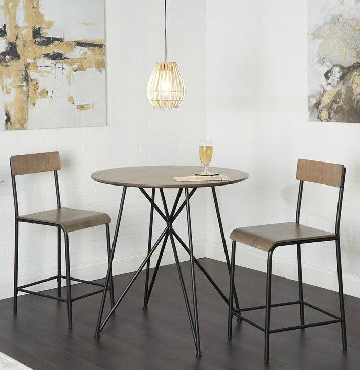 MancillaWood3PieceCounterHeightDiningSet - These 20 dining sets were made for small-space dwellers