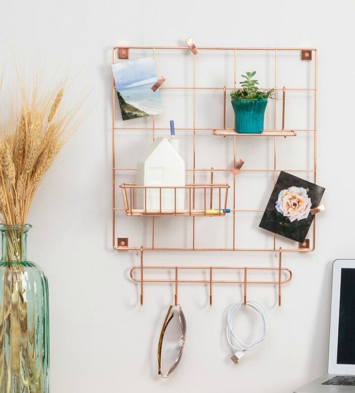 ToulouseWallKeyOrganizerwithMailStorage - Add storage to any room with these 20 excellent wall organizers