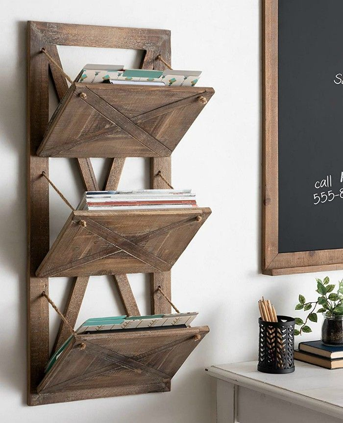 file holder - Add storage to any room with these 20 excellent wall organizers
