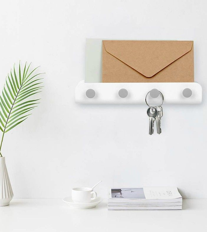 mail holder - Add storage to any room with these 20 excellent wall organizers