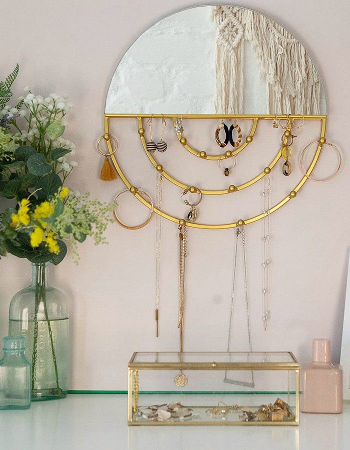 wall jewelry organizer - Add storage to any room with these 20 excellent wall organizers