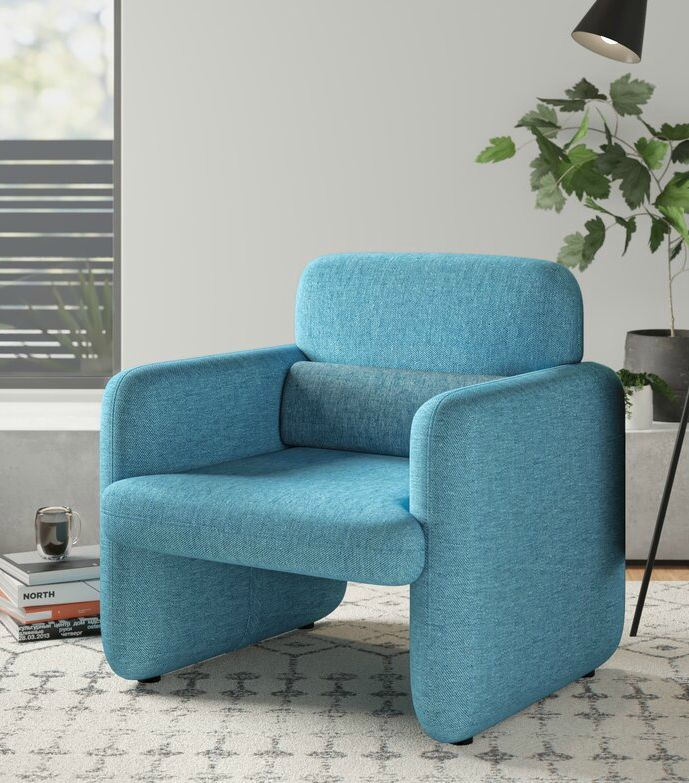 NamakaWovenFabricUpholsteredArmchair - 15 accent chairs that make a serious style statement