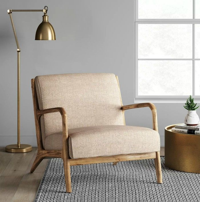 arm chair - 15 accent chairs that make a serious style statement