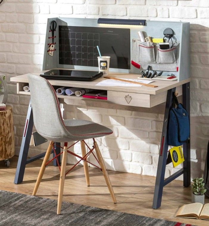 Cilek Trio Smart Desk with Hutch  - 15 excellent desk ideas for small spaces