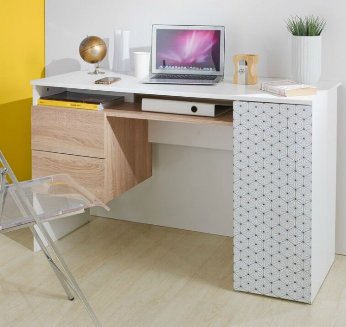 DevonshireFlakeComputerDesk - 15 excellent desk ideas for small spaces