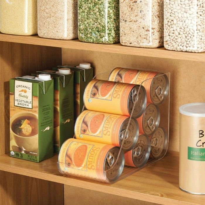 can holder - 20 smart ways to organize your kitchen