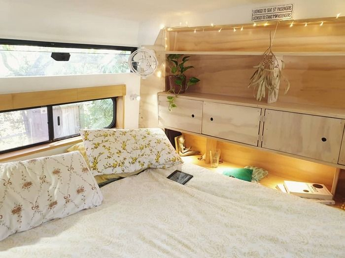 school bus conversion bronte 16 - Australian family turned 1998 Hino school bus into a delightful home on wheels