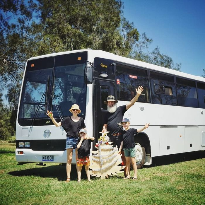 school bus conversion bronte 7 - Australian family turned 1998 Hino school bus into a delightful home on wheels