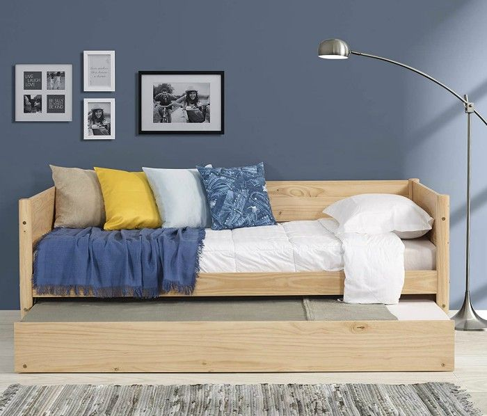 Camaflexi Mid Century Daybed Single Scandinavian Oak - 12 daybeds that'll make a sophisticated addition to your home