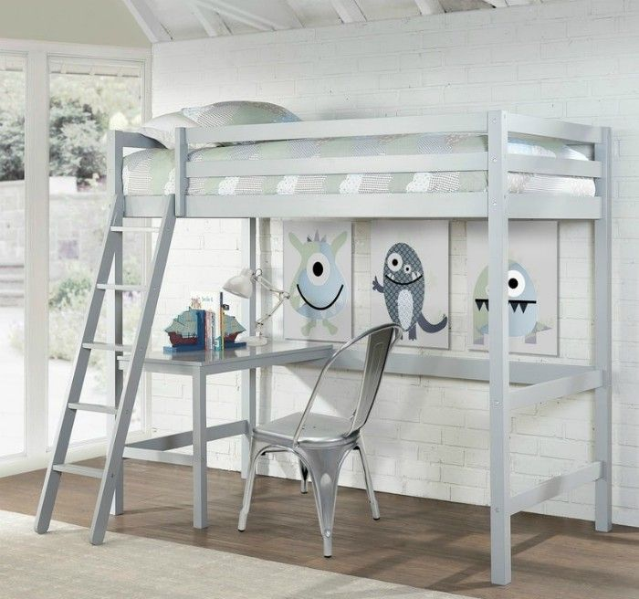Copper Grove Camberg Grey Twin Study Loft 8da43412 ba5e 442d 8964 23dbec8426ed 1000 - 15 space-saving bunk and loft bed ideas for children's rooms