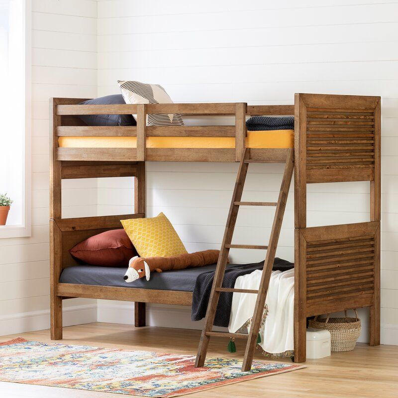 Lubello Twin Bunk Bed - 15 space-saving bunk and loft bed ideas for children's rooms