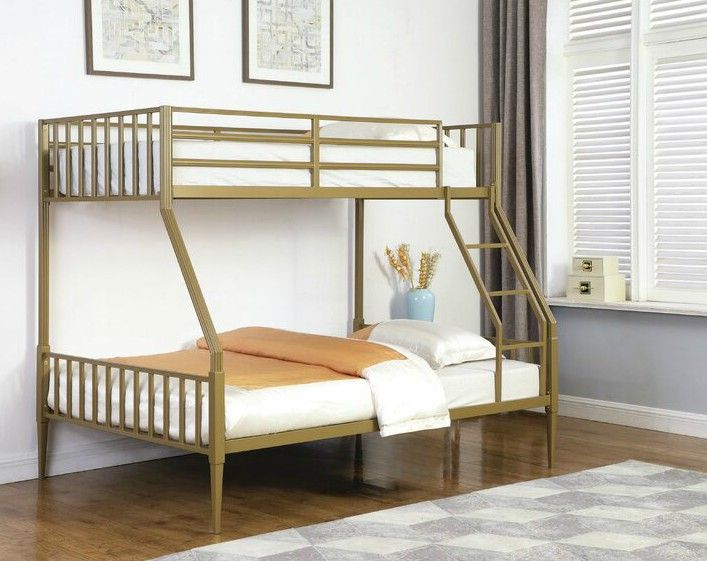Marden Twin Over Full Bunk Bed - 15 space-saving bunk and loft bed ideas for children's rooms