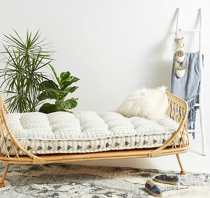 Pari Rattan Daybed - 12 daybeds that'll make a sophisticated addition to your home