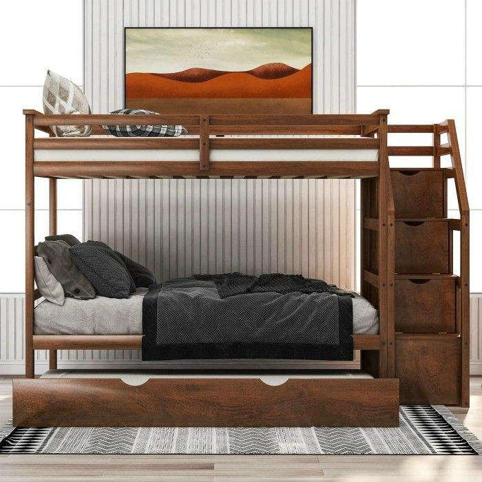 danxee - 15 space-saving bunk and loft bed ideas for children's rooms
