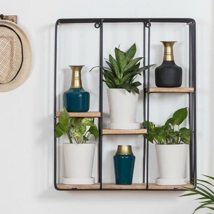 Cadiz Square Floating Wall Shelf 19 1 - 20 brilliant wall shelf ideas that make storage look stylish