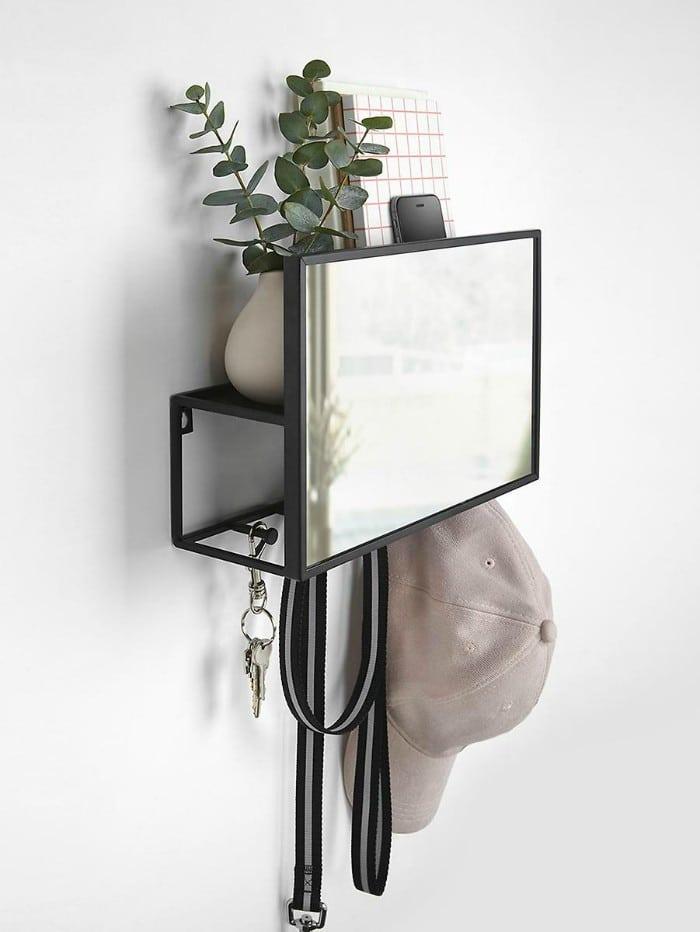 Cubiko Organizer Black VEN3 - 20 brilliant wall shelf ideas that make storage look stylish
